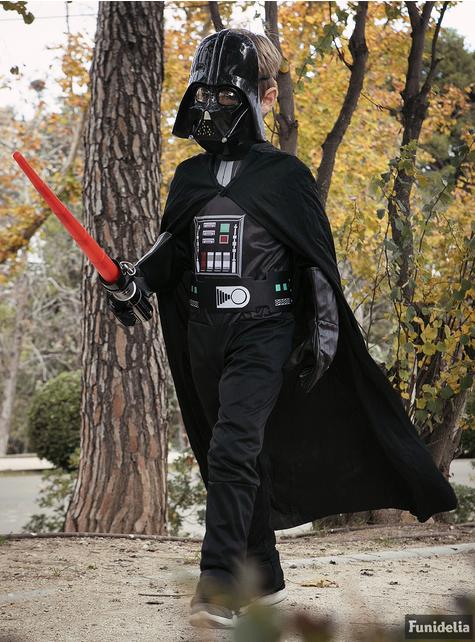 Fato de Darth Vader para menino