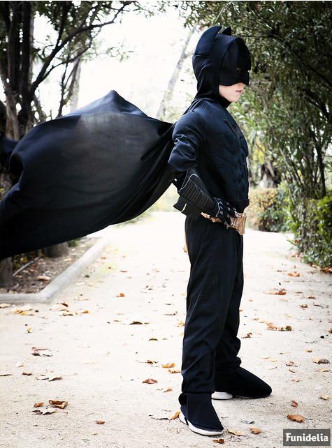 Kids Batman Deluxe Costume - The Dark Knight Rises