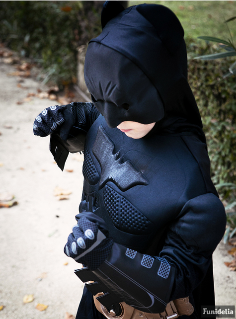 Deluxe Batman TDK Rises kostuum voor kinderen