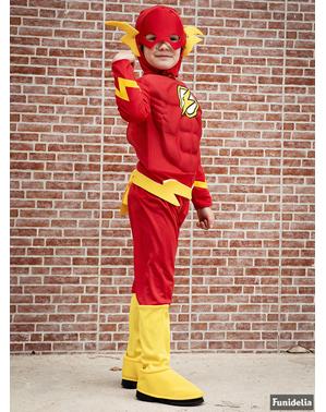 Costum Flash musculos pentru băiat