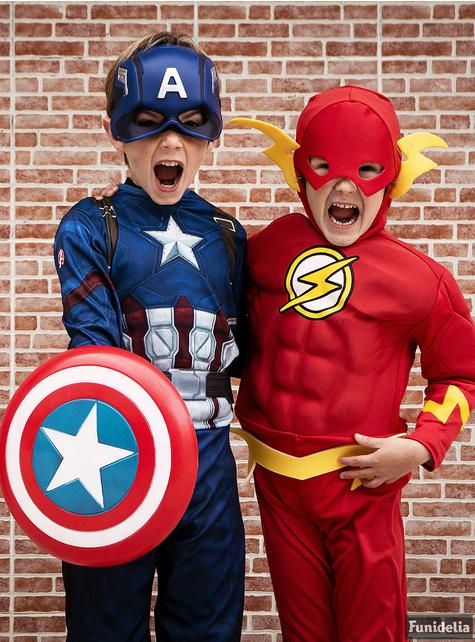 Déguisement de Flash pour enfant
