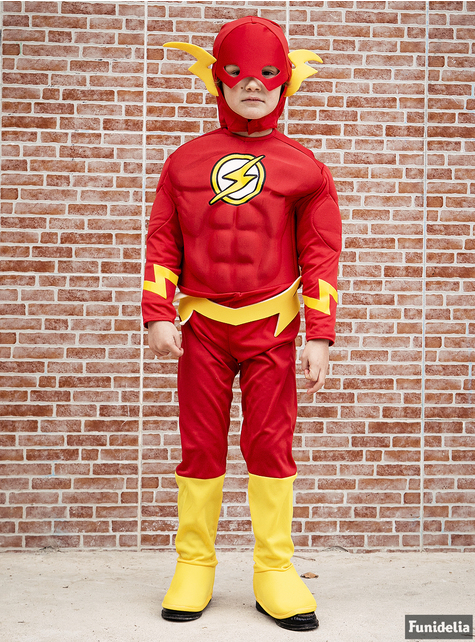 Costume Flash imbottito da bambino