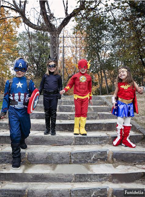 Muskulær Flash barne kostyme