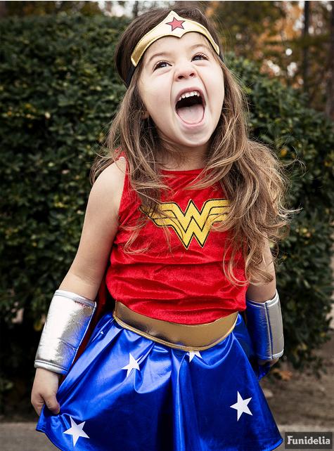 Kostým Wonder Woman pre deti