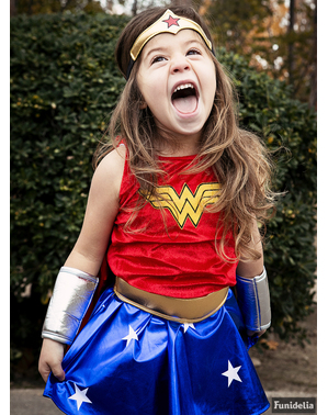 Déguisement de Wonder Woman fille