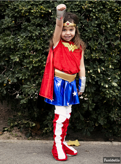 Costume Wonder Woman Classic da bambina