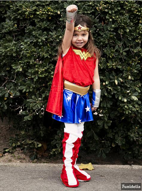 Disfraz de Wonder Woman Classic niña