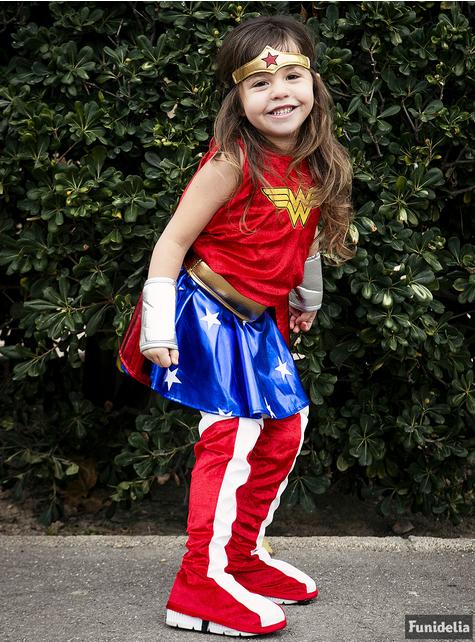 Wonder Woman kostume til piger