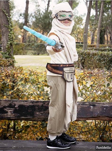 Loup Rey Star Wars épisode 7 fille