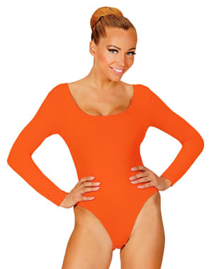 Women's Orange Leotard