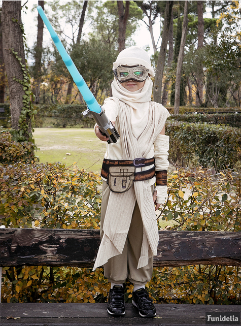 Girls Rey Star Wars The Force Awakens Deluxe Costume