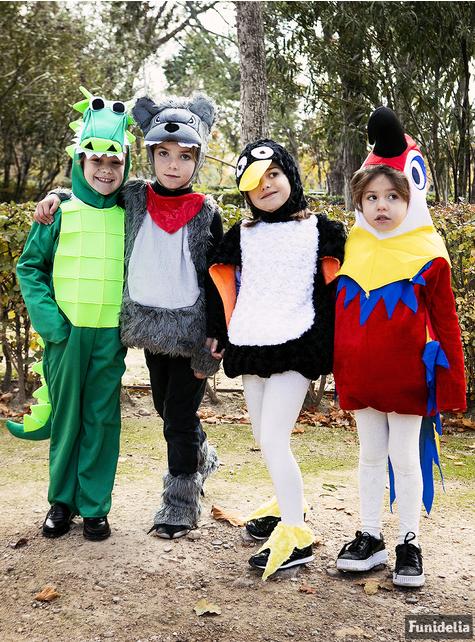 Disfraz de pingüino adorable de peluche infantil