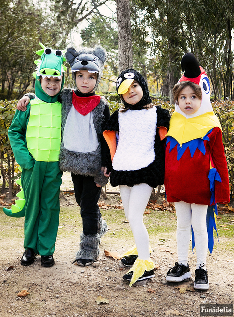 Kids Stuffed Penguin Costume