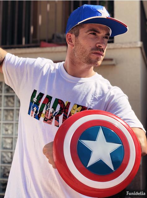Escudo de Capitão América retro infantil
