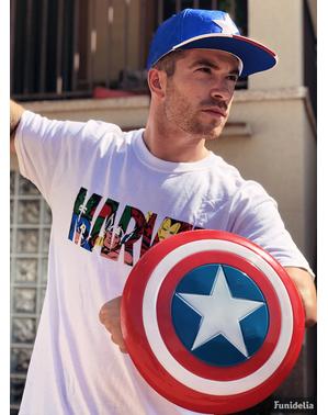 Escudo de Capitán América retro infantil