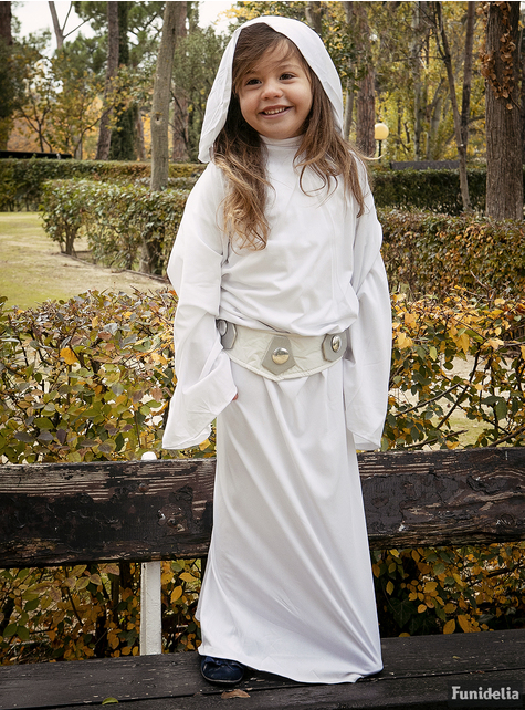 Strój księżniczka Leia deluxe dla dziewczynki