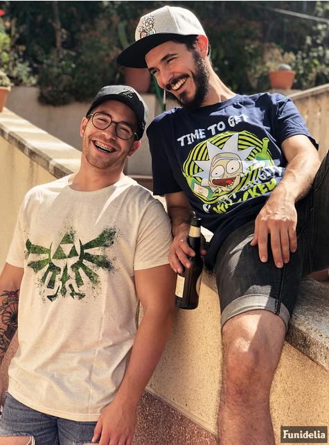 T-shirt de Zelda branca