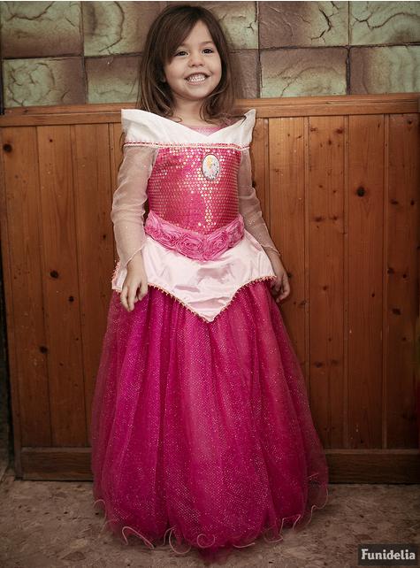 Kostium Aurora Śpiąca Królewna premium dla dziewczynki