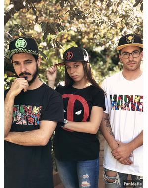 Deadpool Sprukket Logo t-skjorte for damer