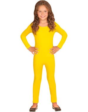 Zółty kombinezon dla dziewczynki