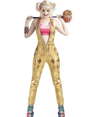 Maskeraddräkt Harley Quinn för dam - Birds of Prey