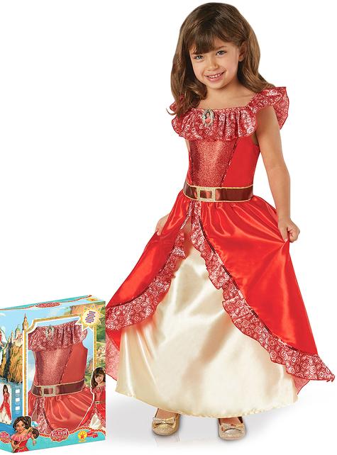 Disfraz de Elena de Avalor deluxe para niña