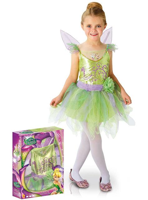 Tinkerbell Kostüm deluxe für Mädchen