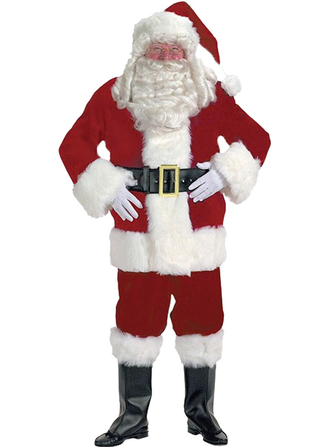 Adorable professional Father Christmas costume