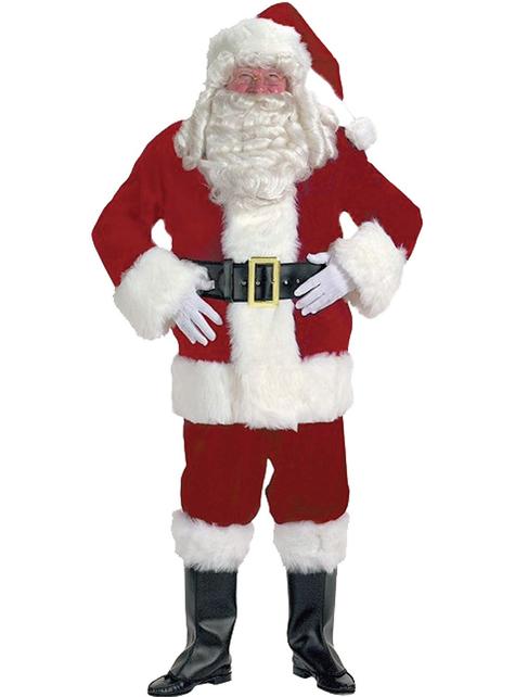 Disfraz de Papá Noel profesional