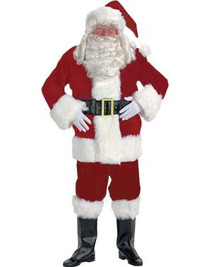 Очарователен професионален костюм на Дядо Коледа