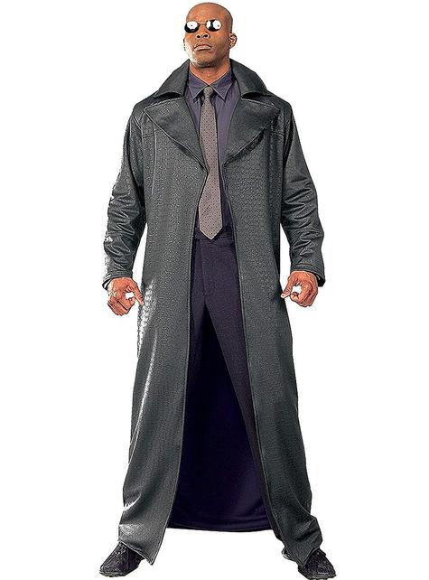 Morpheus deluxe Matrix Kostuum voor mannen