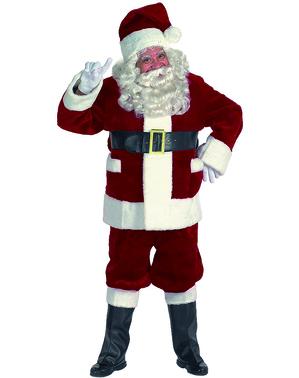 Луксозен мъжки костюм на Дядо Коледа