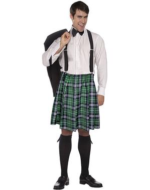 Costum de scoțian kiss my shamrocks