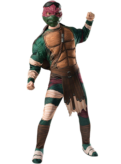 Disfraz de Raphael Tortugas Ninja Movie para adulto