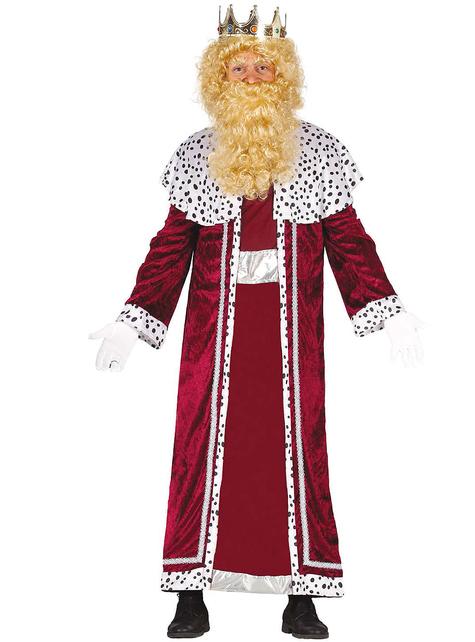 Kráľ z kostýmu East Gaspar