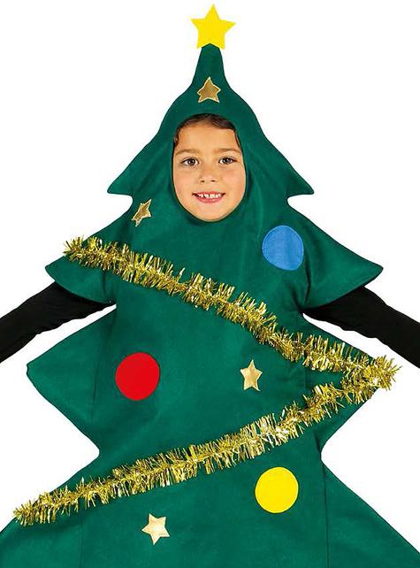 Pyntet juletræskostume til dreng