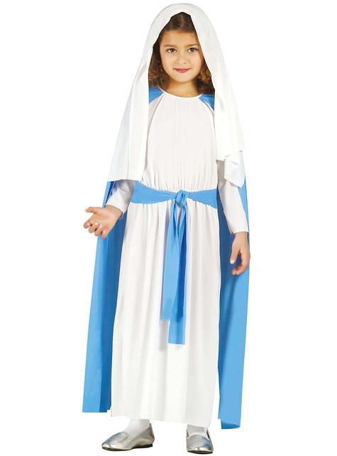Tyttöjen Neitsyt Maria -asu