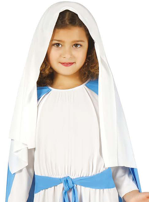 Virgin Mary costume for a girl