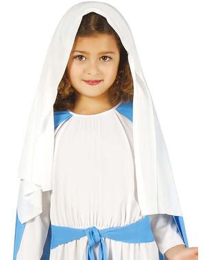 Strój Dziewica Maryja dla dziewczynki