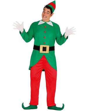Costume da elfo simpatico taglia grande da uomo