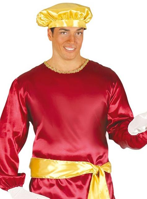 Κόκκινη σελίδα κοστούμι για ενήλικες