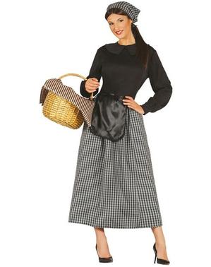 Kostium sprzedawczyni kasztanów damski