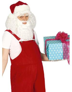 Fato de Pai Natal caseiro para homem
