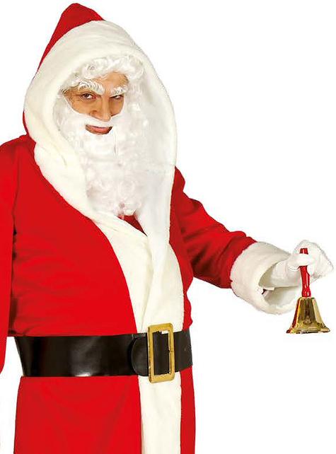 Disfraz de Papá Noel con capucha para adulto