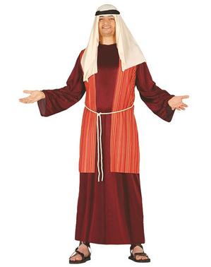 Czerwony Strój święty Józef dla mężczyzn