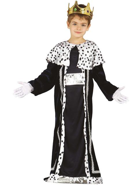 Costume da re magio Melchiorre da bambino
