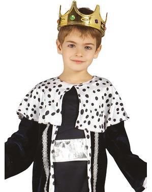 Fato de rei mago Melchior para menino