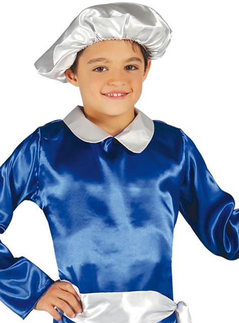 Boys Blue Royal Page Costume