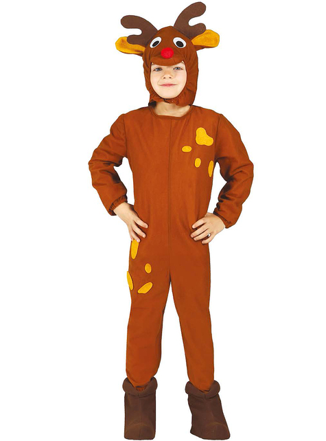 Boys Christmas Reindeer Costume
