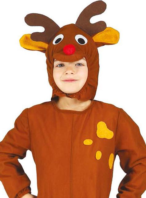 Weihnachtliches Rentier Kostüm für Jungen Classic